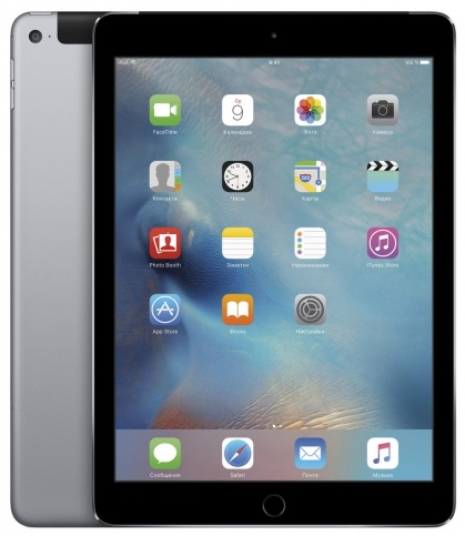 Планшет Apple iPad Air 2 64Gb Wi-Fi + Cellular Серый Космос