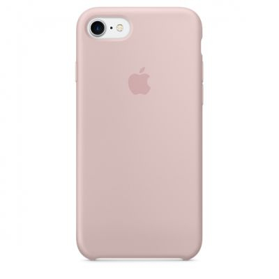 Silicon Case Original for iPhone 7 (Розовый)