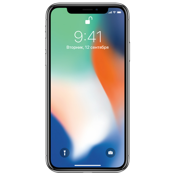 Смартфон Apple iPhone X 64Gb Серебристый