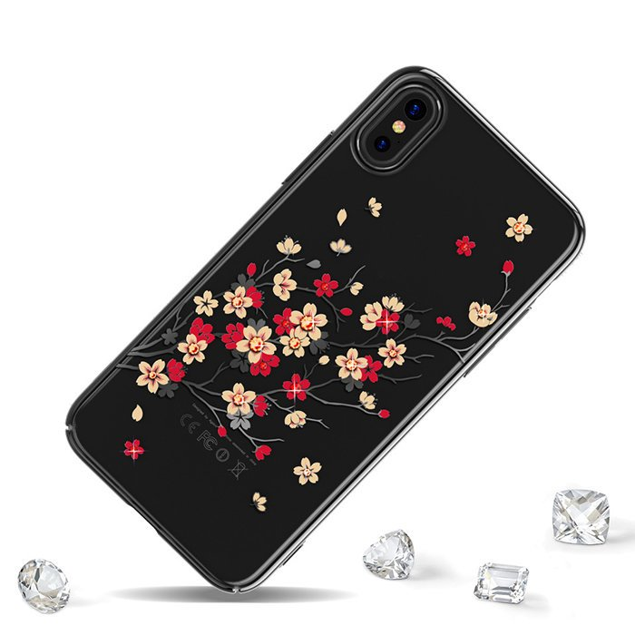 Чехол с Swarovski KINGXBAR Phoenix Series for iPhone X