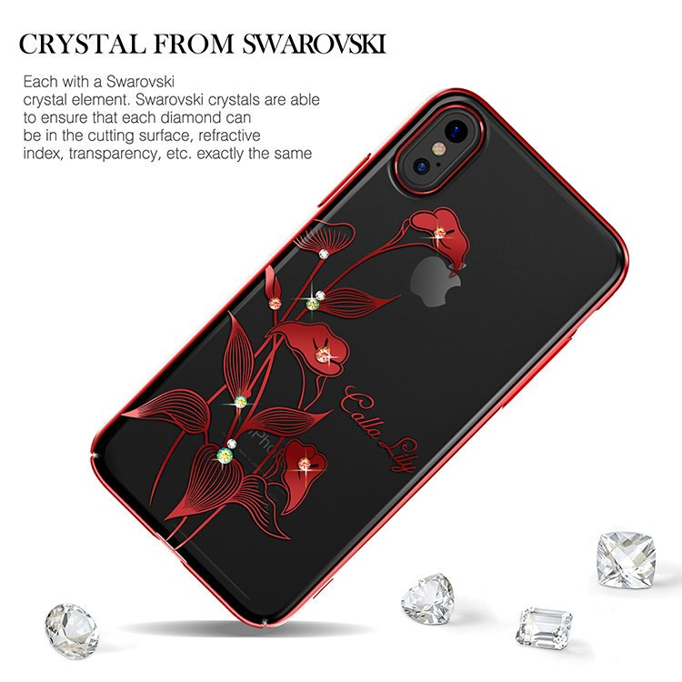 Чехол с Swarovski KINGXBAR Exquisite Series for iPhone X
