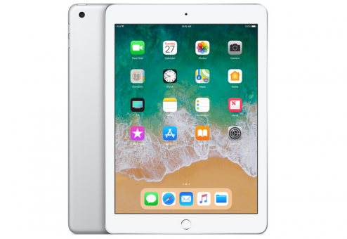 Планшет Apple iPad 2018 128Gb Wi-Fi (Серебристый)