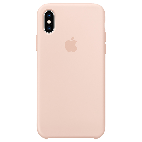 Silicon Case Original for iPhone XS Max (Pink Sand)