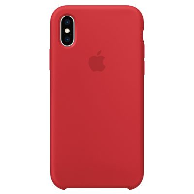 Silicon Case Original for iPhone XS Max (Red)