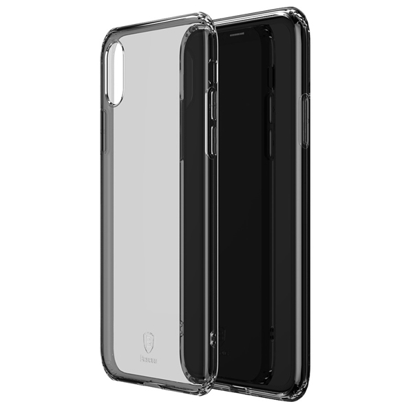 Чехол Baseus Simplicity Series для iPhone Xs Max Transparent Black