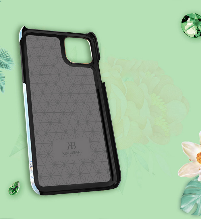 Накладка Kingxbar Blossom Flowers для iPhone 11 Pro в ассортименте