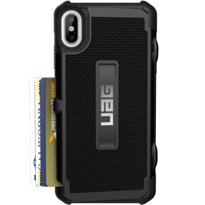 Накладка UAG Trooper для iPhone X/Xs (Черный)