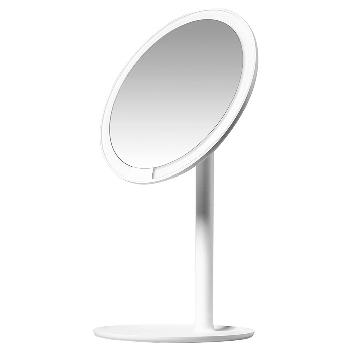 Зеркало для макияжа Xiaomi Amiro LED Lightning Mirror Mini Series White