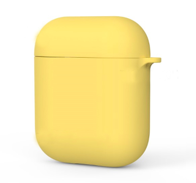 Чехол для AirPods KingxBar силикон (Yellow)