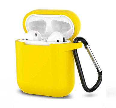 Чехол для AirPods Blueo Liquid Silicone (Yellow)