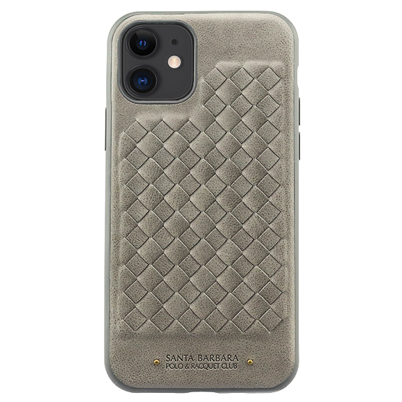 Накладка Santa Barbara Polo & Racquet Club для iPhone 11 (6,1) Ravel Leather (Grey)