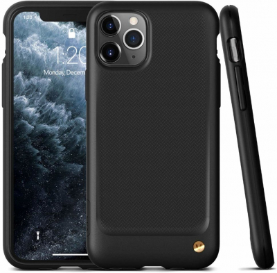 Накладка VRS Design Damda Single Fit для iPhone 11 pro (Черный)