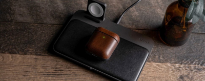Чехол Nomad Case V2 для Apple AirPods (Brown)