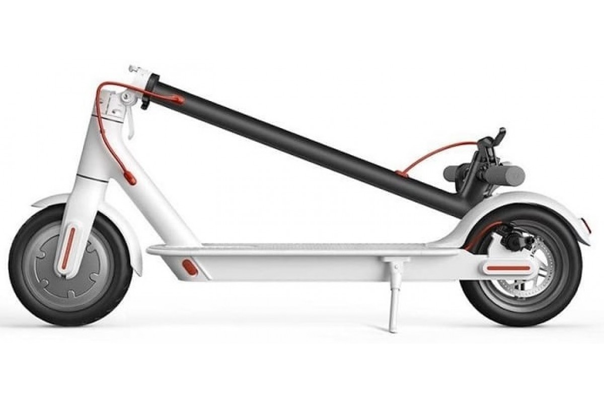Электросамокат Xiaomi Mi Electric Scooter 1S White