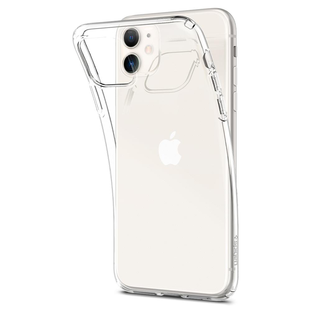 Накладка Spigen Liquid Crystal для iPhone 11 (Прозрачный)