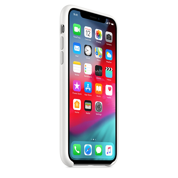 Silicon Case Original for iPhone X/Xs (Белый)