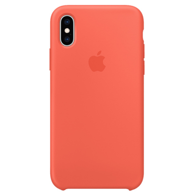 Silicon Case Original for iPhone X/Xs (Nectarine)