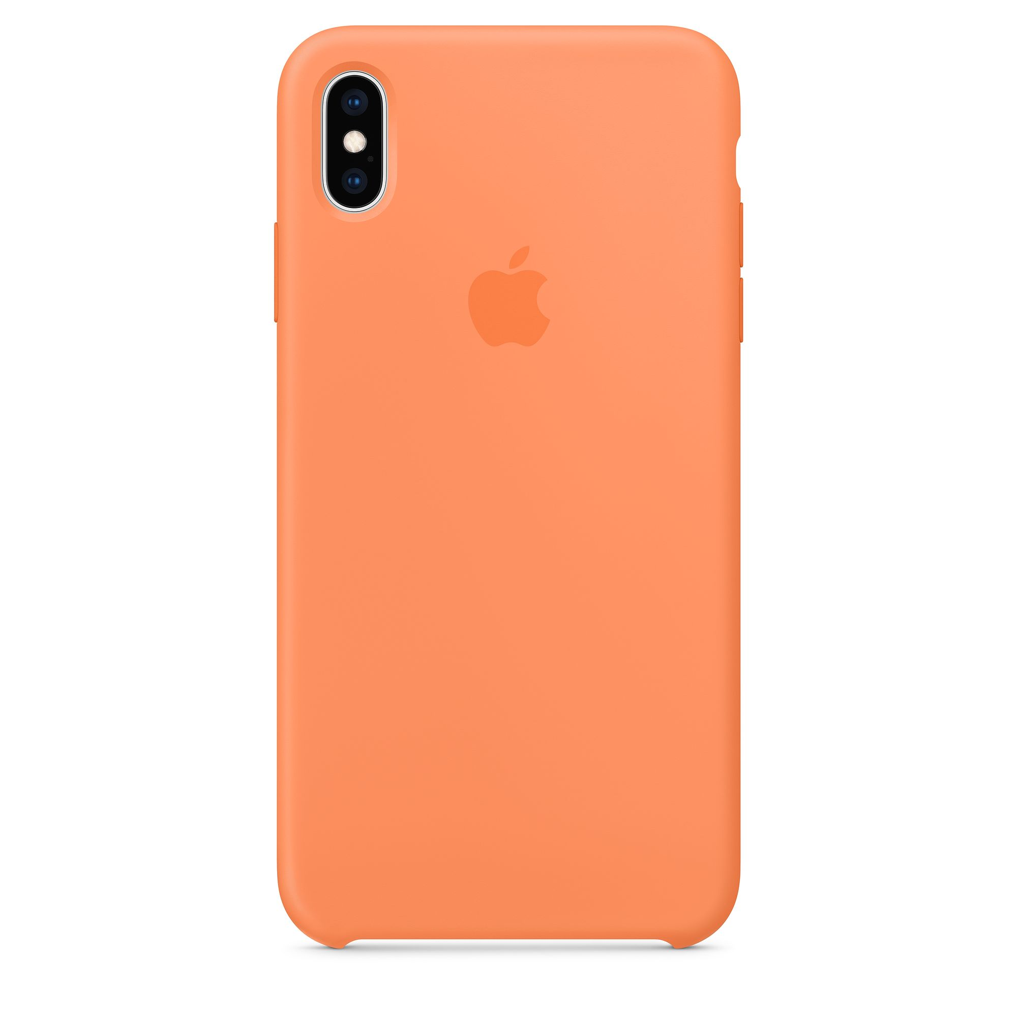 Silicon Case Original for iPhone X/Xs (Papaya)