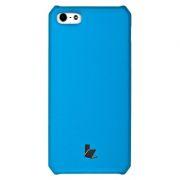 51134 Накладка Jisoncase для iPhone 5 цвет голубой JS-IP5-001