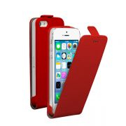 Deppa Flip Cover Apple iPhone 5 магнит, красный 81005