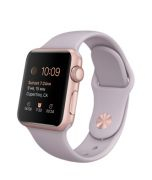 Apple Watch 38mm Rose Gold Aluminium Case with Lavender Sport Band