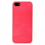 53955 Накладка пластиковая Moshi для iPhone 5 Розовая