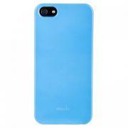 53960 Накладка пластиковая Moshi для iPhone 5 Голубая
