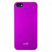 53963 Накладка пластиковая Moshi для iPhone 5 Сиреневая