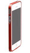 Бампер металлический для iPhone 5S Cross Line в ассортименте (Красный)