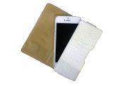Кобура для Phone 5/5S SUBUS CreaCase, кожа (Белый, Кайман)