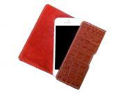 Кобура для Phone 5/5S SUBUS CreaCase, кожа (Красный, Кайман)