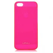 UMKU iPhone 5/5s Накладка Пластик 0.8mm (Pink)