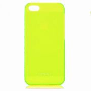 UMKU iPhone 5/5s Накладка Пластик 0.8mm (Yellow)