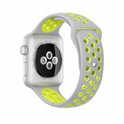 Apple Watch Series 2 42mm Space Gray Aluminum Case with Black Woven Neylon Band