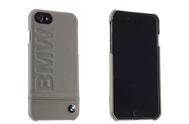 Задняя накладка BMW Signature Logo Imprint for iPhone 7 (Бежевый)